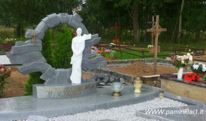Šarūno Oržekausko kapas