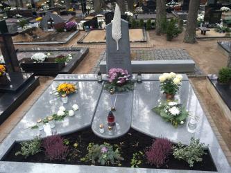 Antkapinis paminklas , Petrasiunu kapines