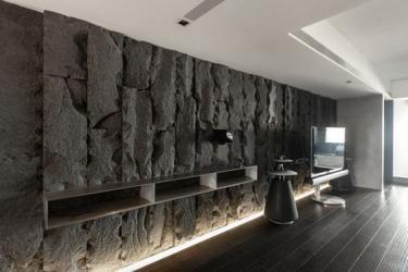 Dekoratyvine  siena - travertinas , marmuras ,granitas