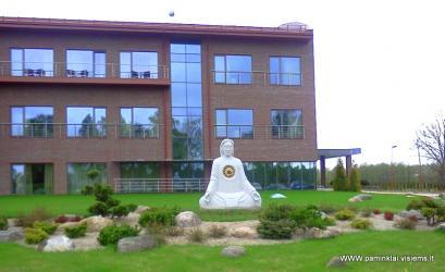 Poilsio centras , VAZGAIKIEMIS,Skulptura ,, MASTYTOJAS ,, granitas, svoris 8 tonos