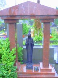 ,,Marija .,. skulptura is bronzos