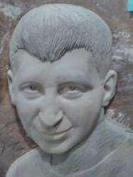 Portretas - gipsas , paruosta liejimui is bronzos