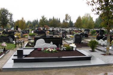 Paminklinė  kompozicija  ,,VILTIS ,,-   Šiauliu miesto kapinės.